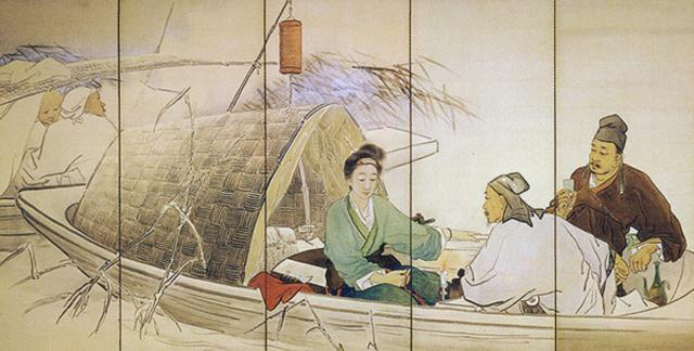琵琶行ビワコウ草稿  明治43(1910)年 白沙村荘 橋本関雪記念館蔵S.jpg